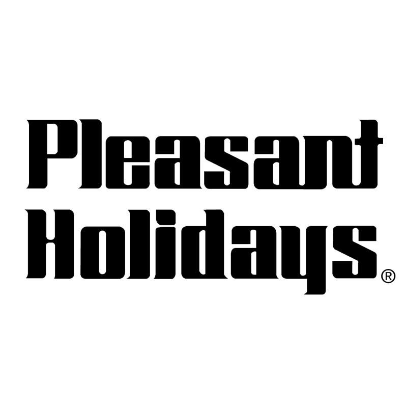 Pleasant Holidays vector