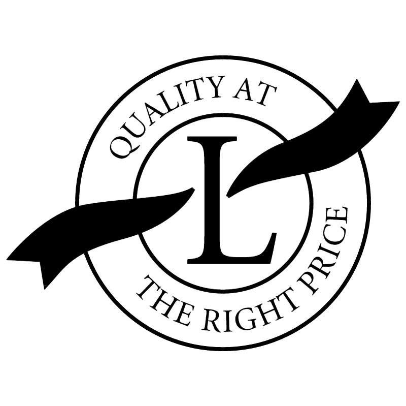 Quality At The Right Price vector logo