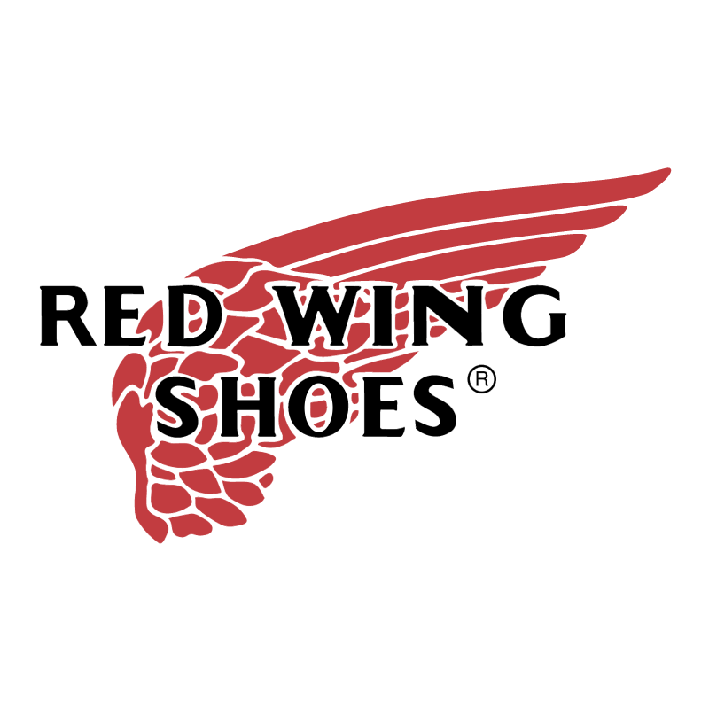 Red Wing Shoes vector