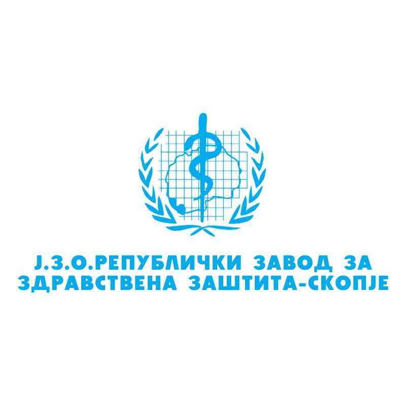 Republicki zavod za zdravstvena zastita Skopje vector