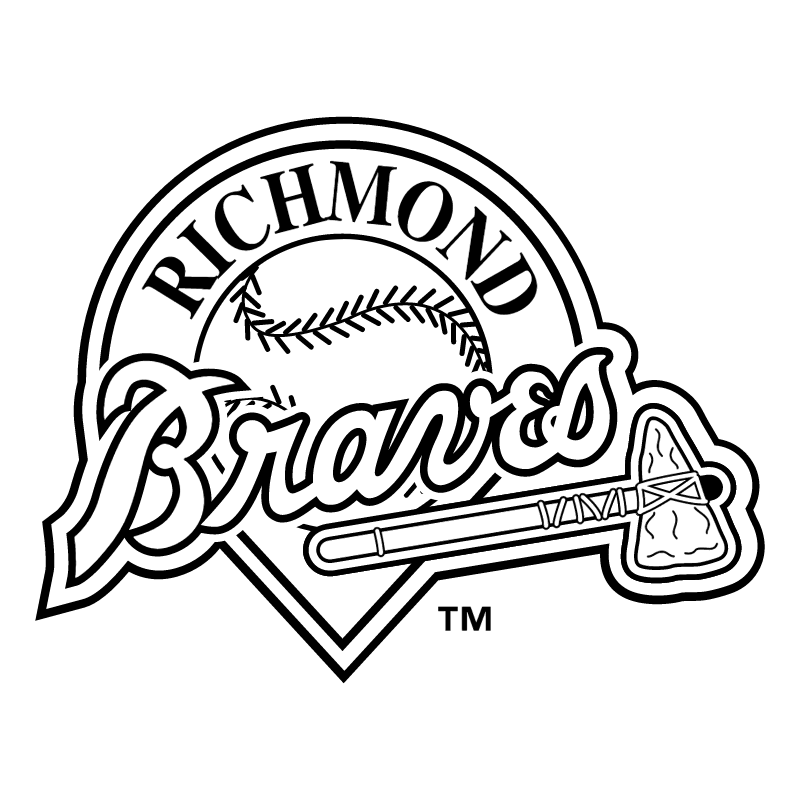Richmond Braves vector