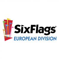 Six Flags European Division vector