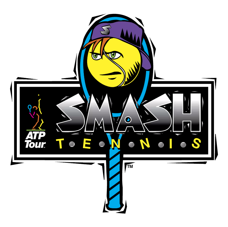 Smash Tennis vector