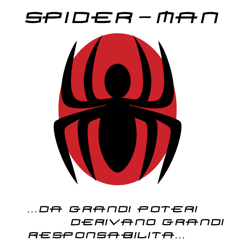 Spider man vector