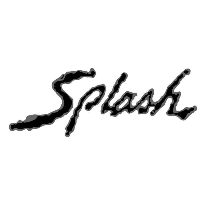 Splash vector logo