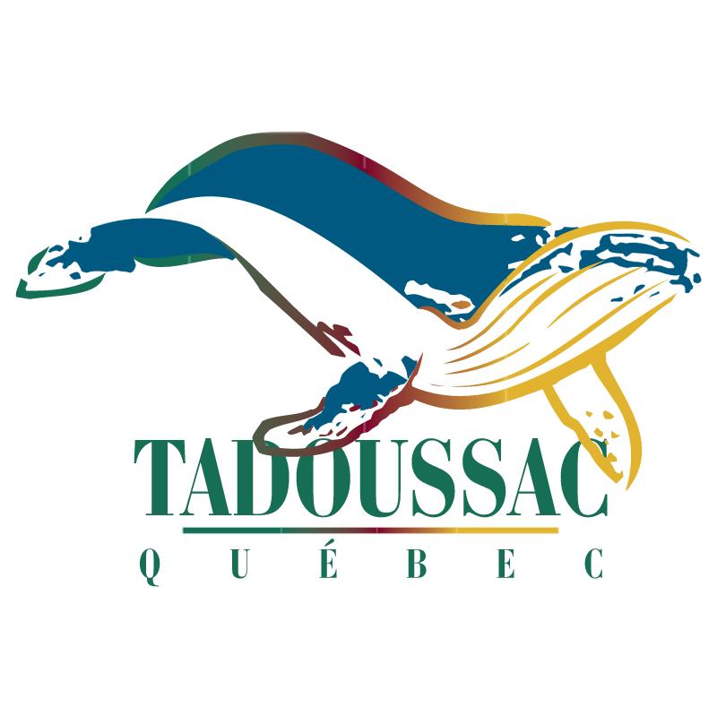 Tadoussac Quebec vector