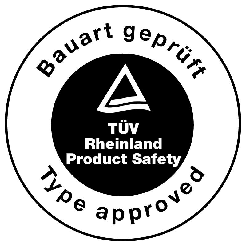 TUV Bauart gepruft vector logo