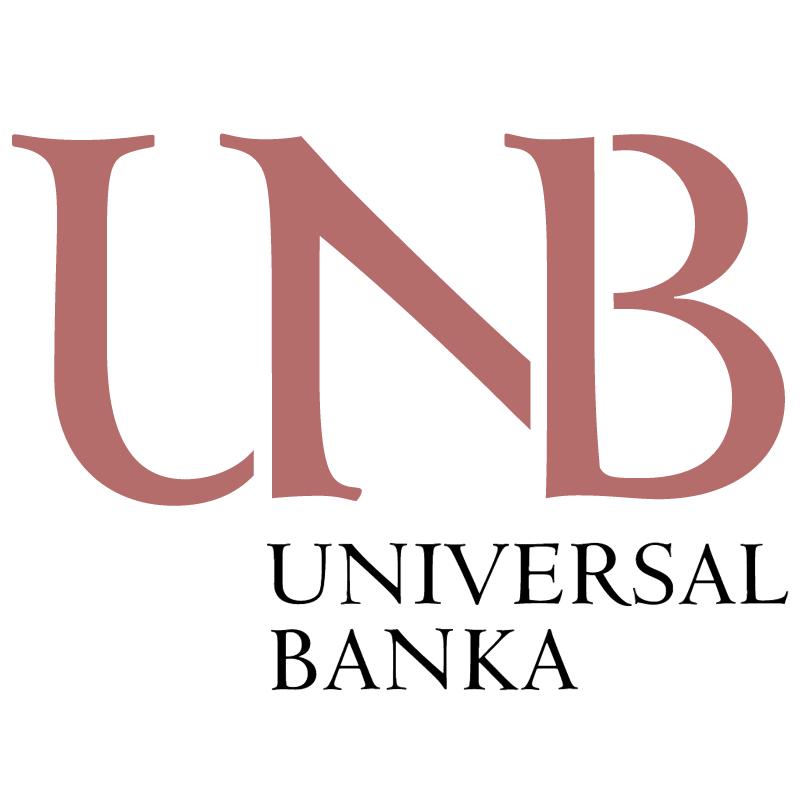Universal Banka vector