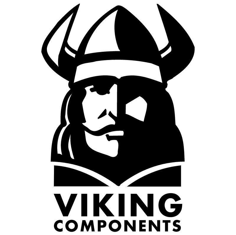 Viking Components vector logo