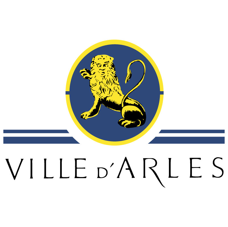 Ville de Arles vector