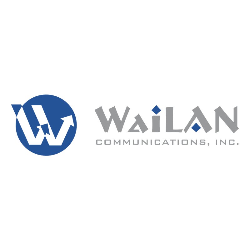 WaiLAN Communications vector logo