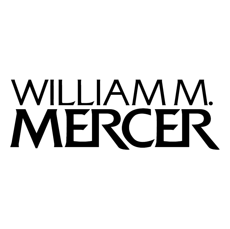 William M Mercer vector