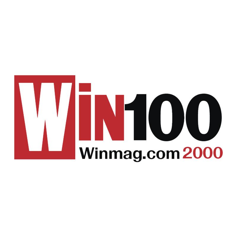 Win100 vector logo