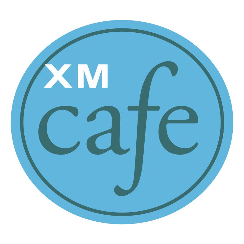 XM Cafe vector