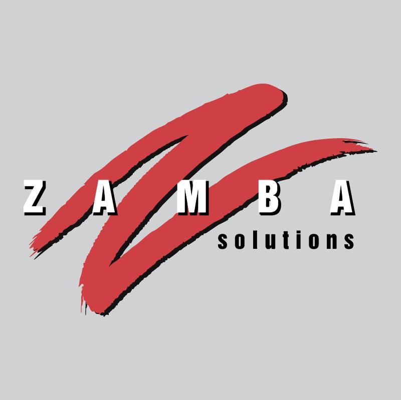 Zamba Solutions vector